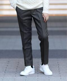 SAXONY CHECK PANTS