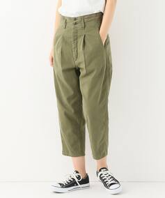 【chimala/チマラ】  BACKSATIN FARMARS WORK PANTS