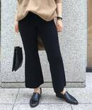Cropped Knit パンツ