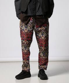 【ENGINEERED GARMENTS】Carlyle Pant-Big Floral Jacquard