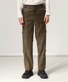 ANOTHER YOUTH strap slacks