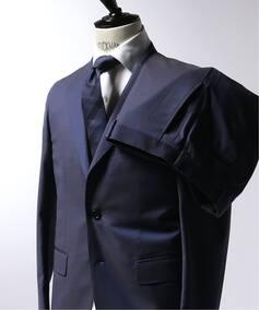 CFT 3ボタンスーツ DORMEUIL プレーン