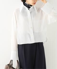 【JEJIA】 クロップドシャツ