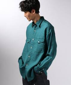 7X7 / SEVEN BY SEVEN TUCK SHIRT LINEN