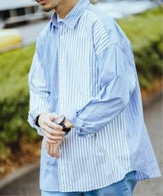 100/2 POPLIN CRAZY BIG SH / クレイジービッグシャツ
