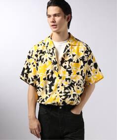 ALLEGE / アレッジ Flower print shirts