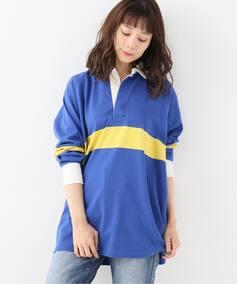 【UMBRO】 BORDER RUGBY SHIRT / ボーダーラグビーシャツ◆
