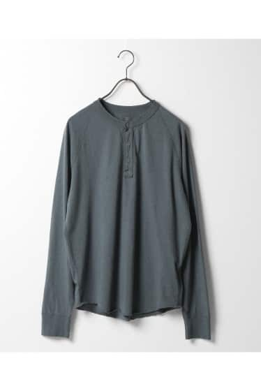 SAVE KHAKI UNITED L/S HEAHTER HENLEY