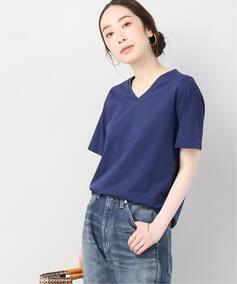 【汗染み防止】VネックTシャツ