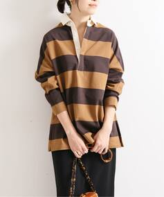 【TRADITIONAL WETHERWEAR 】 IENA 別注 BIG RUGBY シャツ◆