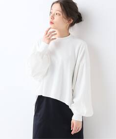 CLANE THERMAL VOLUME SLEEVE カットソー