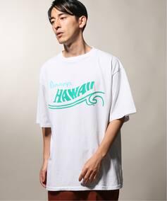 PENNYS× relume 別注  PRINTED  HAWAII Tシャツ