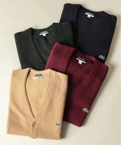 Journal Standard x Lacoste Wool Pique V-neck Cardigan 19080465000230