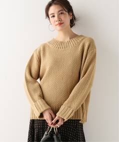 鹿の子編みプルオーバー
