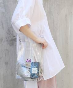 【NaNa-NaNa】PVC A4:ショルダーバッグ