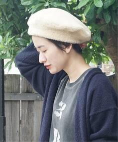 【 MUHLBAUER / ミュールバウアー 】 curly beret