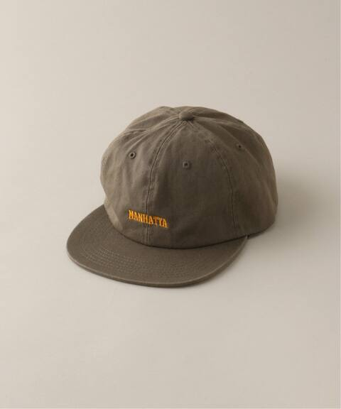 MANHATTA / マンハッタ】 LOGO 6 PANEL CAP|WISM(ウィズム)公式の ...