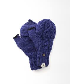 【slow hands】Aran cable glove