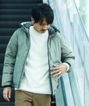 《予約》【SHIGADOWN by NANGA】別注 AURORA-TEX ダウンジャケット