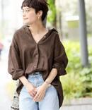 リネンビックシャツ2◆