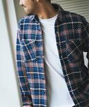 【WAX LONDON / ワックスロンドン】 バスケットチェックシャツ