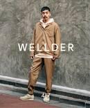 【WELLDER / ウェルダー】 DRAWSTRING SHIRT