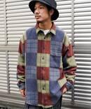 JW-PATCHWORK DADシャツ