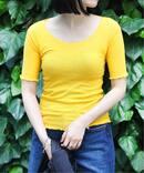 【BASERANGE/ベースレンジ】PAMA 3/4 TEE:Tシャツ
