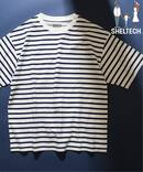 SHELTECH(R) ボーダーTシャツ