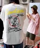 【COWDEN×Ficx Diner 】24/7 ショップTシャツ