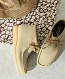 【CLARKS/クラークス】 Wallabee Boot.:ブーツ