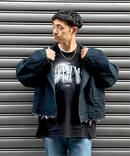 【doublet / ダブレット】SILK CHINO CUT-OFF JACKET