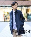 【MINOTECH / ミノテック】 ステンカラーコート