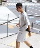【Tシャツ+ショートパンツ+収納袋の3点SET】H/Hセットアップルームウェア2