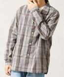 【fosterr / フォスター】 SHIRT OPEN COLLAR / オープンカラーシャツ