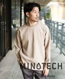 【MINOTECH / ミノテック】撥水クルーネック
