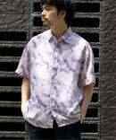 《予約》【FOLL / フォル】over s/s shirt / オーバーサイズショートスリーブシャツ