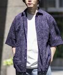 【niche./ニッチ】Flwer Lace オーバーシャツ
