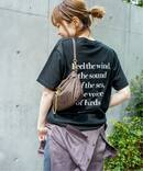 【SKIN/スキン】 BACK PRINT Tシャツ