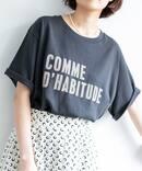 《追加》COMME DHABITUDE Tシャツ◆