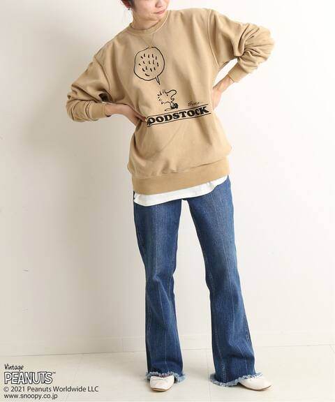 Vintage!!!Rare 1971/'s Washington University Snoopy PeanutSweatshirt CrewneckSize L