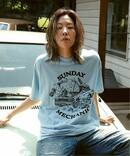 【CARSERVICE / カーサービス】 SUNDAY MECHANIC TEE