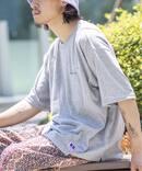 【RUSSELL ATHLETIC/ラッセル・アスレティック】 Collage Work Pocket Tシャツ