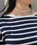 【UCALYPT】 パールチェーンネックレス(32cm)◆